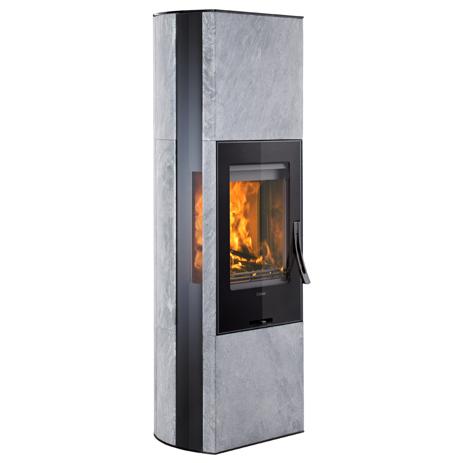 Contura 35TG, black with glass top