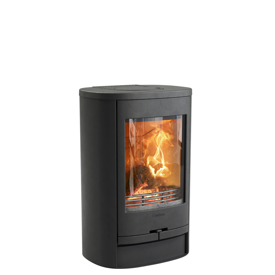 Contura 810L, black with cast iron top