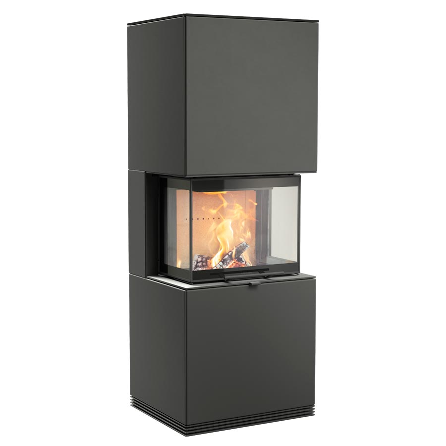 Fireplace Contura i61 black steel
