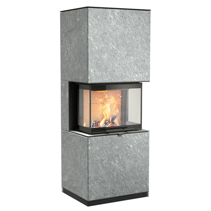 Fireplace Contura i61T with soapstone