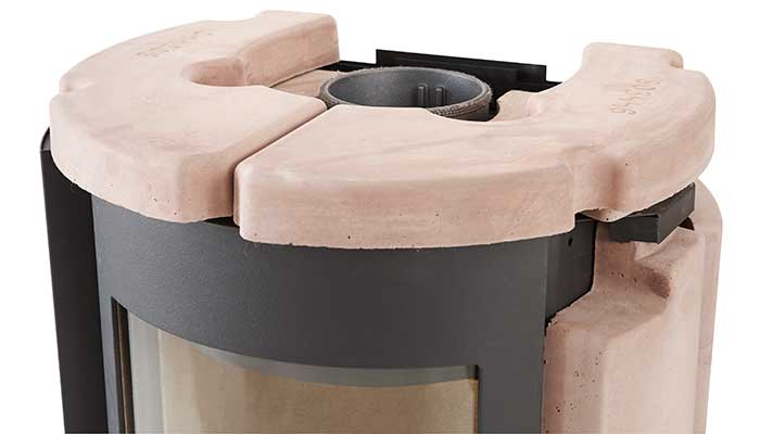 Powerstone is a stone with excellent heat retention properties.