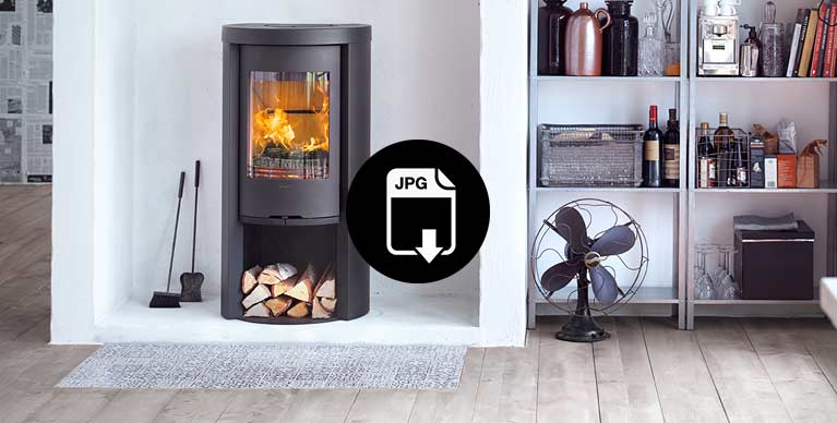 Lifestyle images with stoves