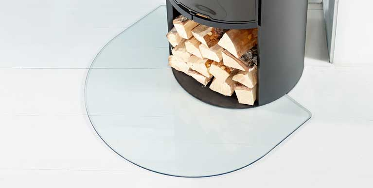 Floor protection for your stove